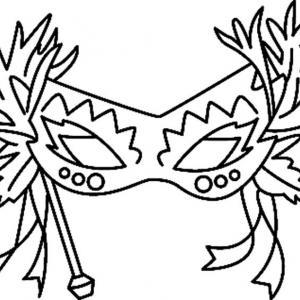 Masque 01 - motif à imprimer