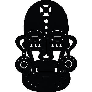 Masque 08 - motif à imprimer