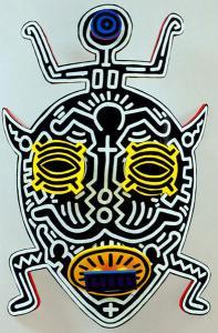 Masque 11 - motif à imprimer