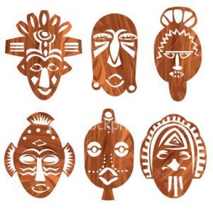 Masque 12 - motif à imprimer