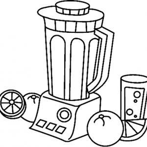 Mixeur 01 - motif à imprimer