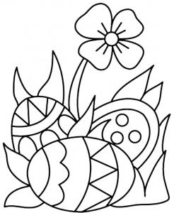 Oeufs 06 - motif à imprimer