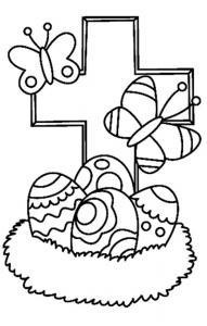 Oeufs 26 - motif à imprimer