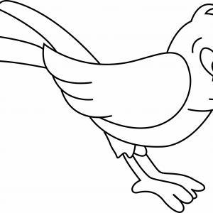 Oiseau 01 - motif à imprimer