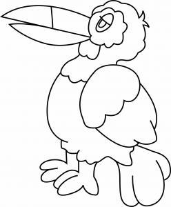 Oiseau 02 - motif à imprimer