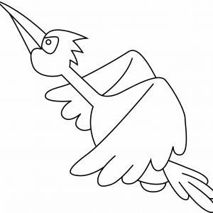 Oiseau 03 - motif à imprimer