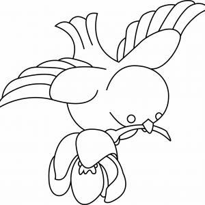 Oiseau 07 - motif à imprimer
