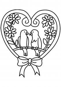 Oiseau 11 - motif à imprimer