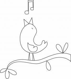 Oiseau 15 - motif à imprimer