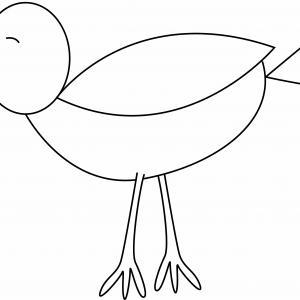 Oiseau 21 - motif à imprimer