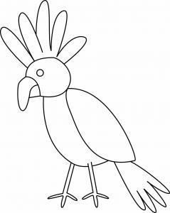 Oiseau 22 - motif à imprimer