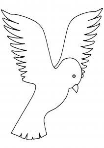 Oiseau 24 - motif à imprimer