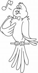Oiseau 30 - motif à imprimer