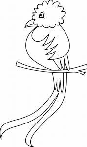 Oiseau 36 - motif à imprimer