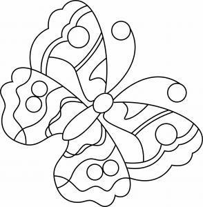 Papillon 01 - motif à imprimer