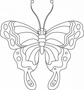 Papillon 02 - motif à imprimer