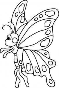 Papillon 04 - motif à imprimer