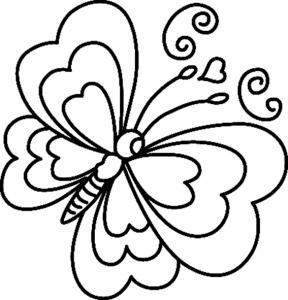 Papillon 06 - motif à imprimer