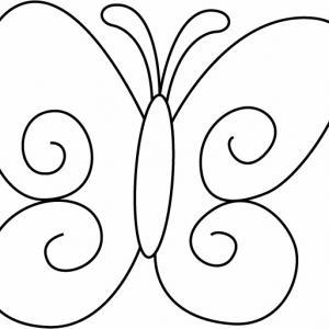 Papillon 07 - motif à imprimer