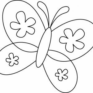 Papillon 09 - motif à imprimer