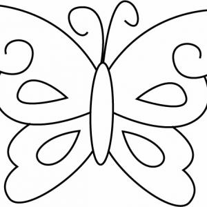 Papillon 10 - motif à imprimer