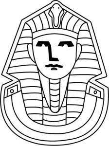 Pharaon - motif à imprimer