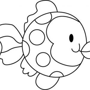 Poisson 01 - motif à imprimer