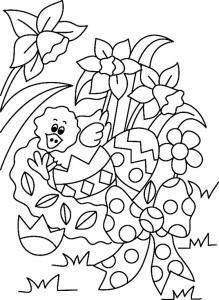 Poussin 06 - motif à imprimer