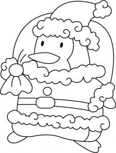 Père Noël 02 - motif à imprimer