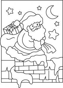 Père Noël 05 - motif à imprimer