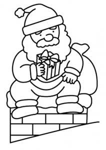 Père Noël 14 - motif à imprimer