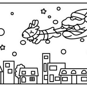 Père Noël 21 - motif à imprimer