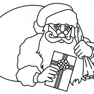 Père Noël 22 - motif à imprimer