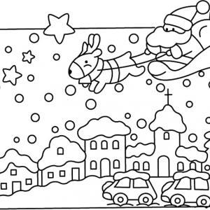 Père Noël 27 - motif à imprimer