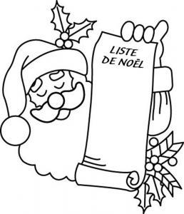 Père Noël 33 - motif à imprimer
