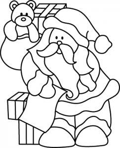 Père Noël 41 - motif à imprimer