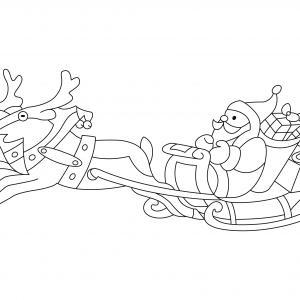 Père Noël 47 - motif à imprimer