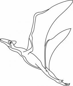 Quezalcoatlus - motif à imprimer