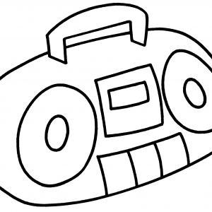 Radio 01 - motif à imprimer