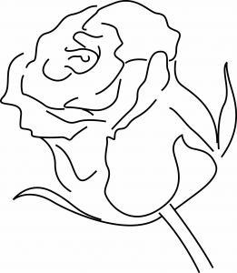 Rose 04 - motif à imprimer