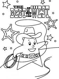 Sheriff 01 - motif à imprimer