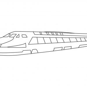 TGV 01 - motif à imprimer