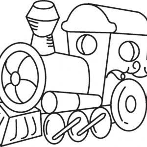 Train 03 - motif à imprimer