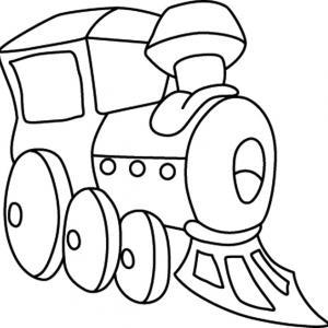 Train 04 - motif à imprimer