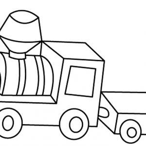 Train 05 - motif à imprimer