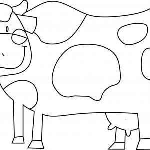 Vache 11 - motif à imprimer