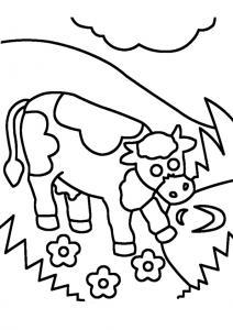 Vache 12 - motif à imprimer