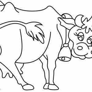 Vache 15 - motif à imprimer