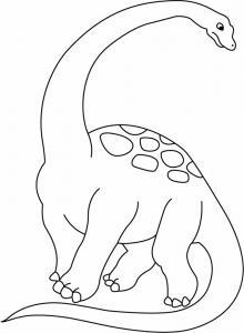 Zizhongosaurus - motif à imprimer