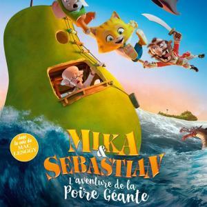 Découvrez la bande annonce et des infos sur le film d'animation : Mika & Sebastian : l'aventure de la poire géante